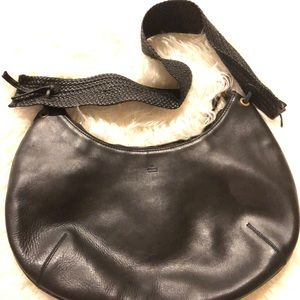 Authentic Gucci Leather Shoulder Bag